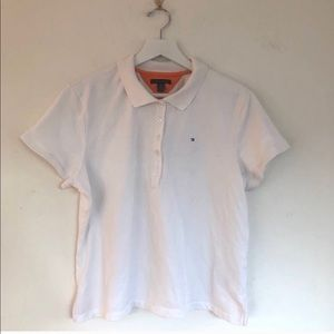 Tommy Hilfiger 5 Button Short Sleeve Pique Polo